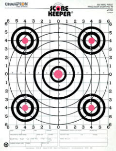 Champion Score Keeper - 100yd Rifle Target