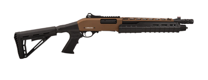 Canuck Commander pump-action